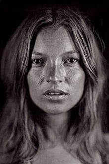 Chuck Close, Kate Moss
