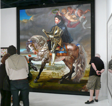 Kehinde Wiley, Equestrian Portrait of King Philip II, 2009