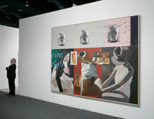 David Salle, With All Due Respect Sir,..., 2009