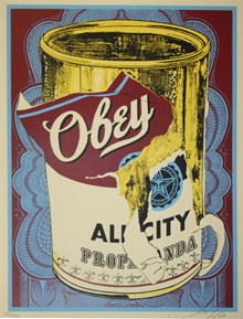 Shepard Fairey, Soup Can III
