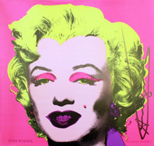 Andy Warhol, Marilyn Announcement