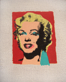 Richard Pettibone, Marilyn after Warhol, 1978